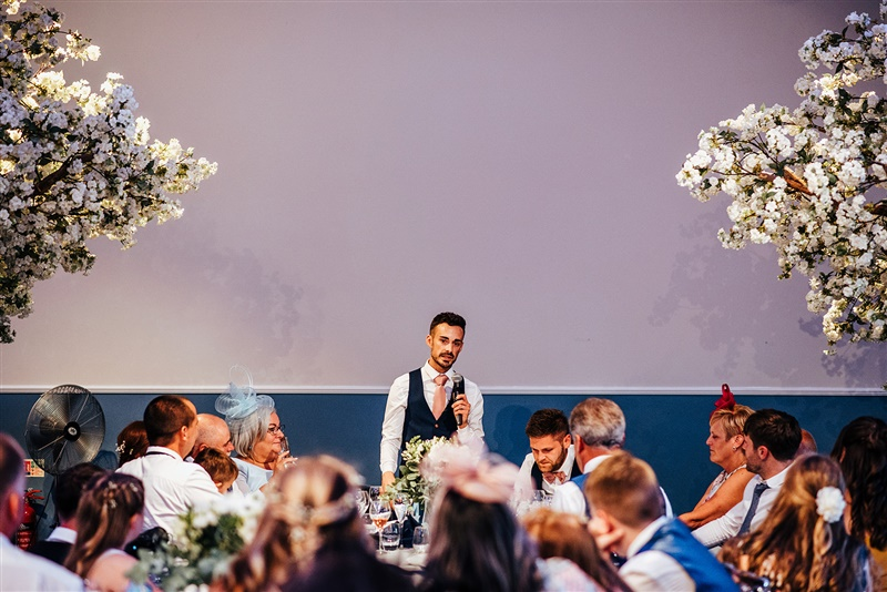 Bombay Sapphire Wedding- Same Sex Wedding- Unconventional Wedding- This And That Photography- speech