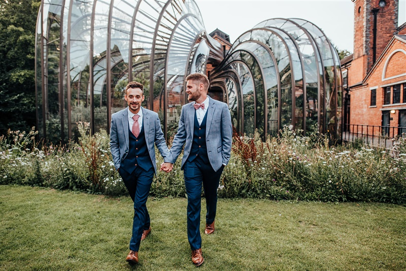 Bombay Sapphire Wedding- Same Sex Wedding- Unconventional Wedding- This And That Photography- couples photo