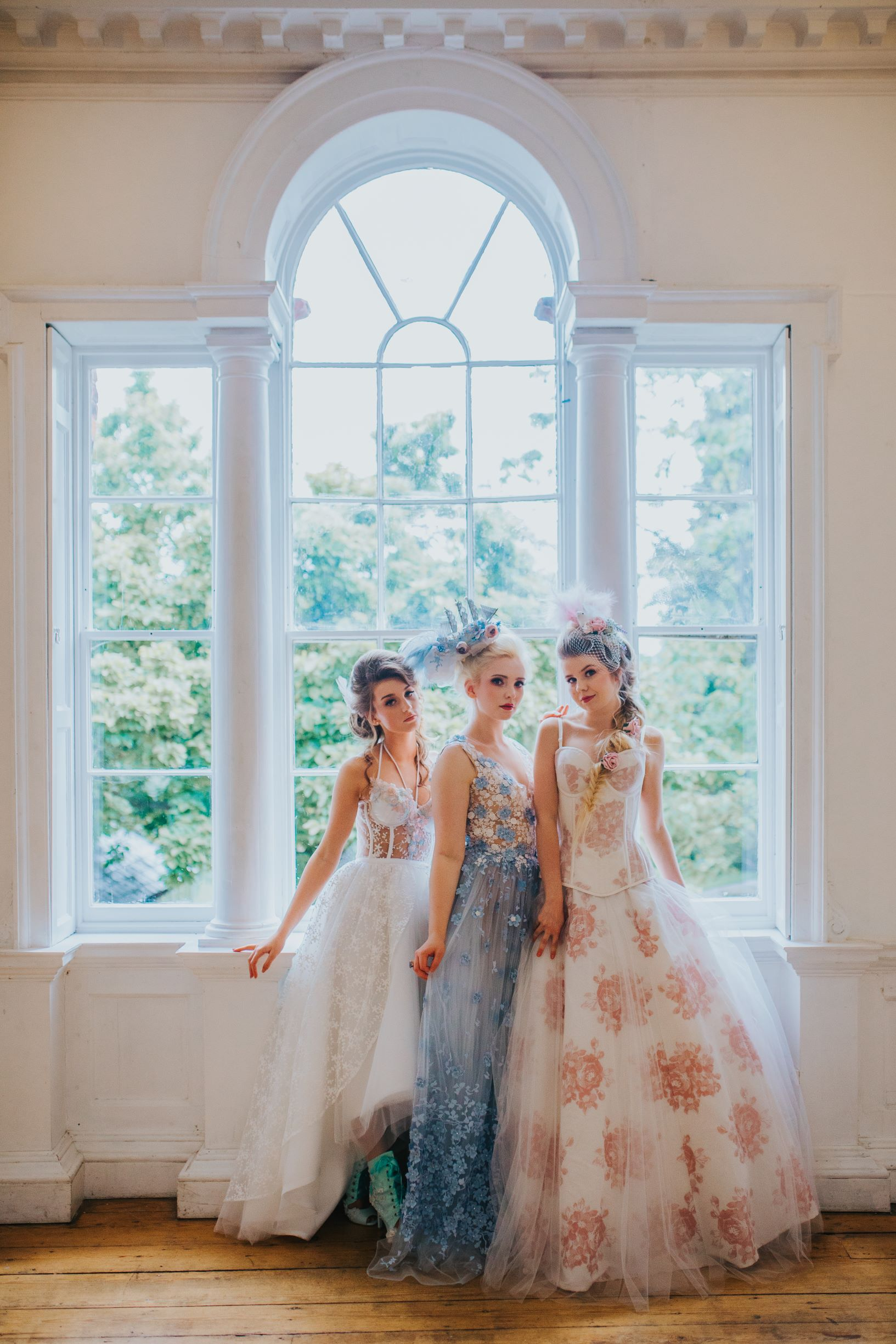 Whimsical wedding- Laura Beresford Photography- unconventional wedding- alternative wedding- three unique wedding looks