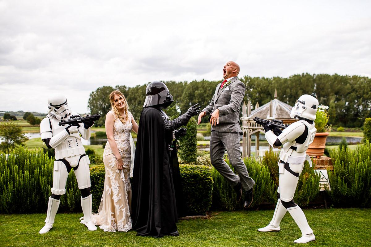 Movie Wedding Theme- Star Wars Wedding- Themed Wedding- Lina & Tom Photography- Unconventional Wedding