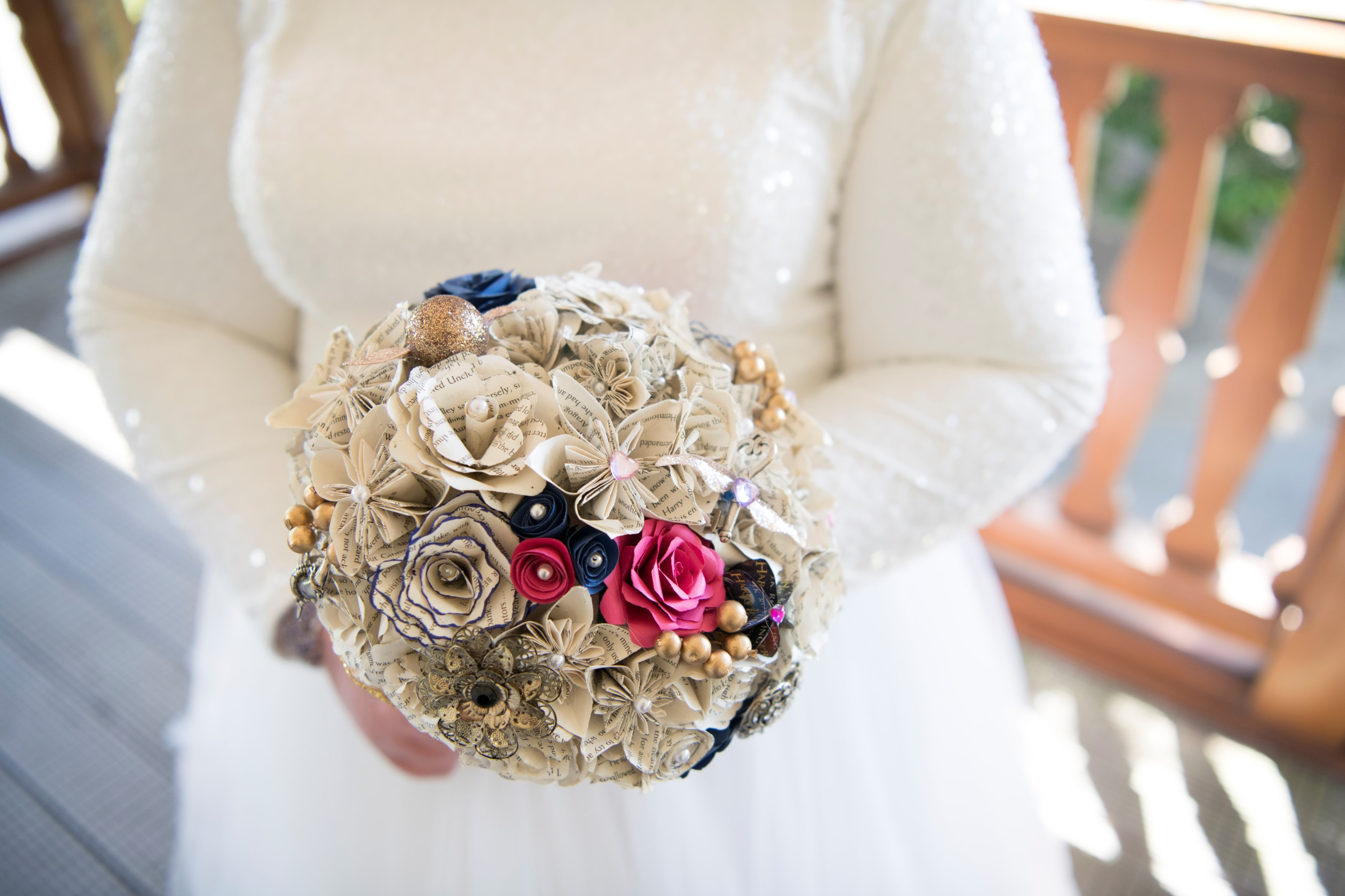 Zoo Wedding- Emma May Photography- Unconventional Wedding- Unique Wedding Inspiration- Alternative Wedding Bouquet