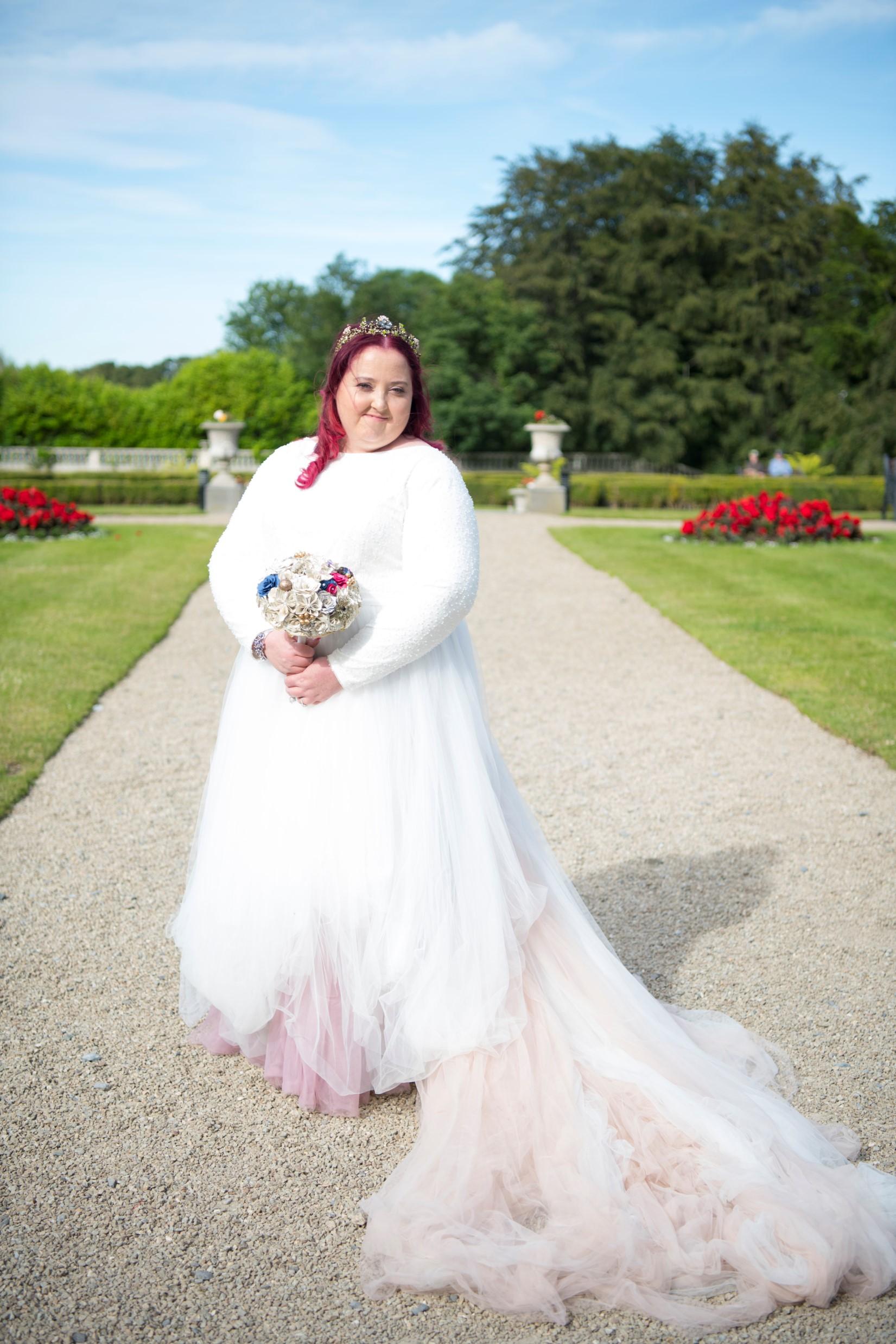 Zoo Wedding- Emma May Photography- Unconventional Wedding- Unique Wedding Inspiration- Pink Wedding Dress