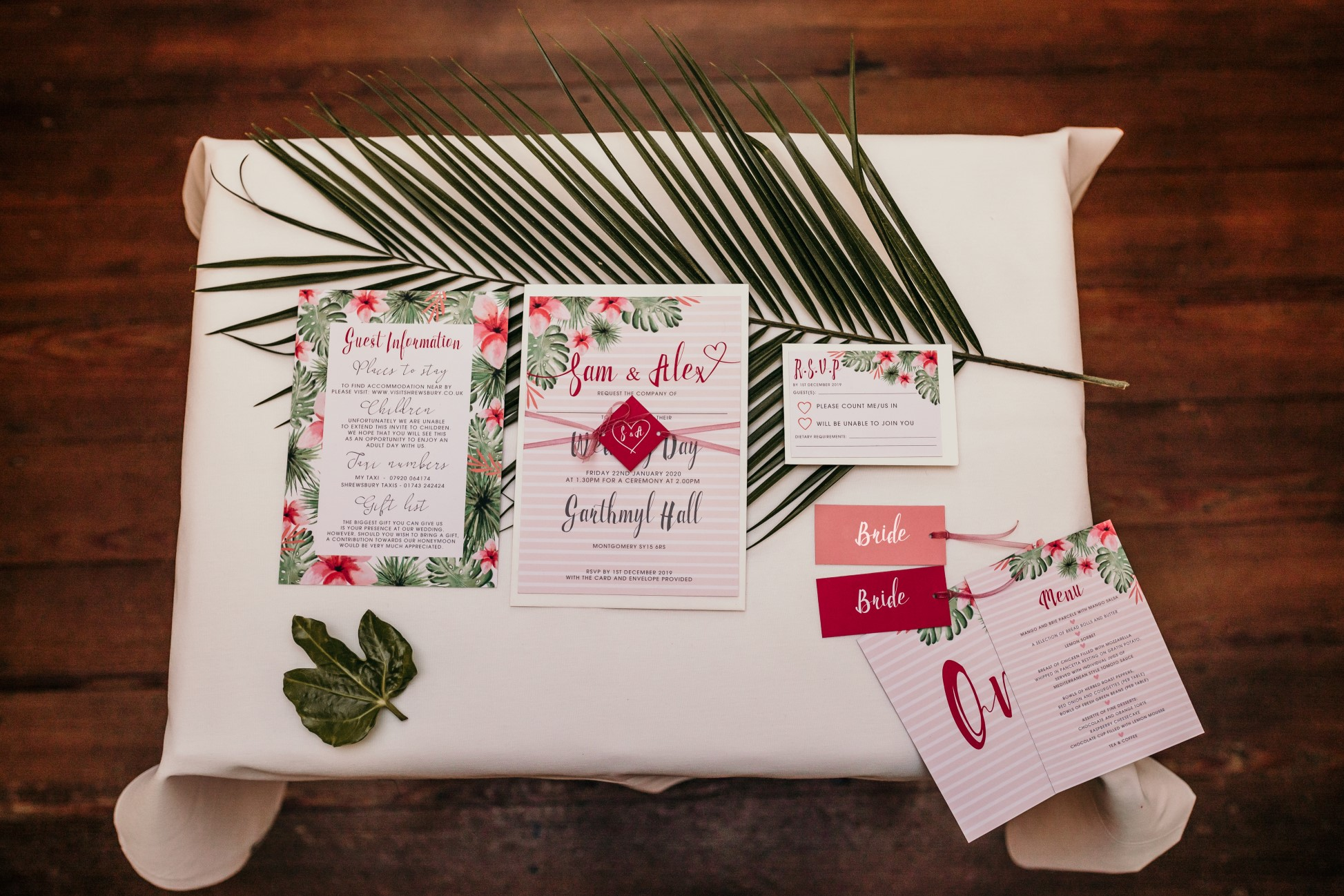 tropical opulence wedding- tropulence- twigs branch photography- unconventional wedding