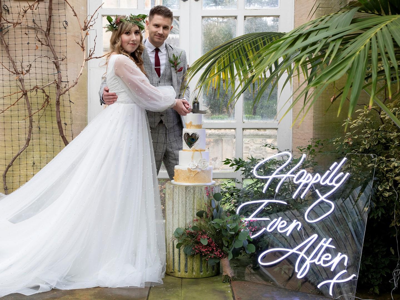 Tropical Boho Wedding- Pink Photographics- Greenhouse Wedding- Harlaxton Wedding- Unconventional Wedding- Unique Wedding Ideas 8