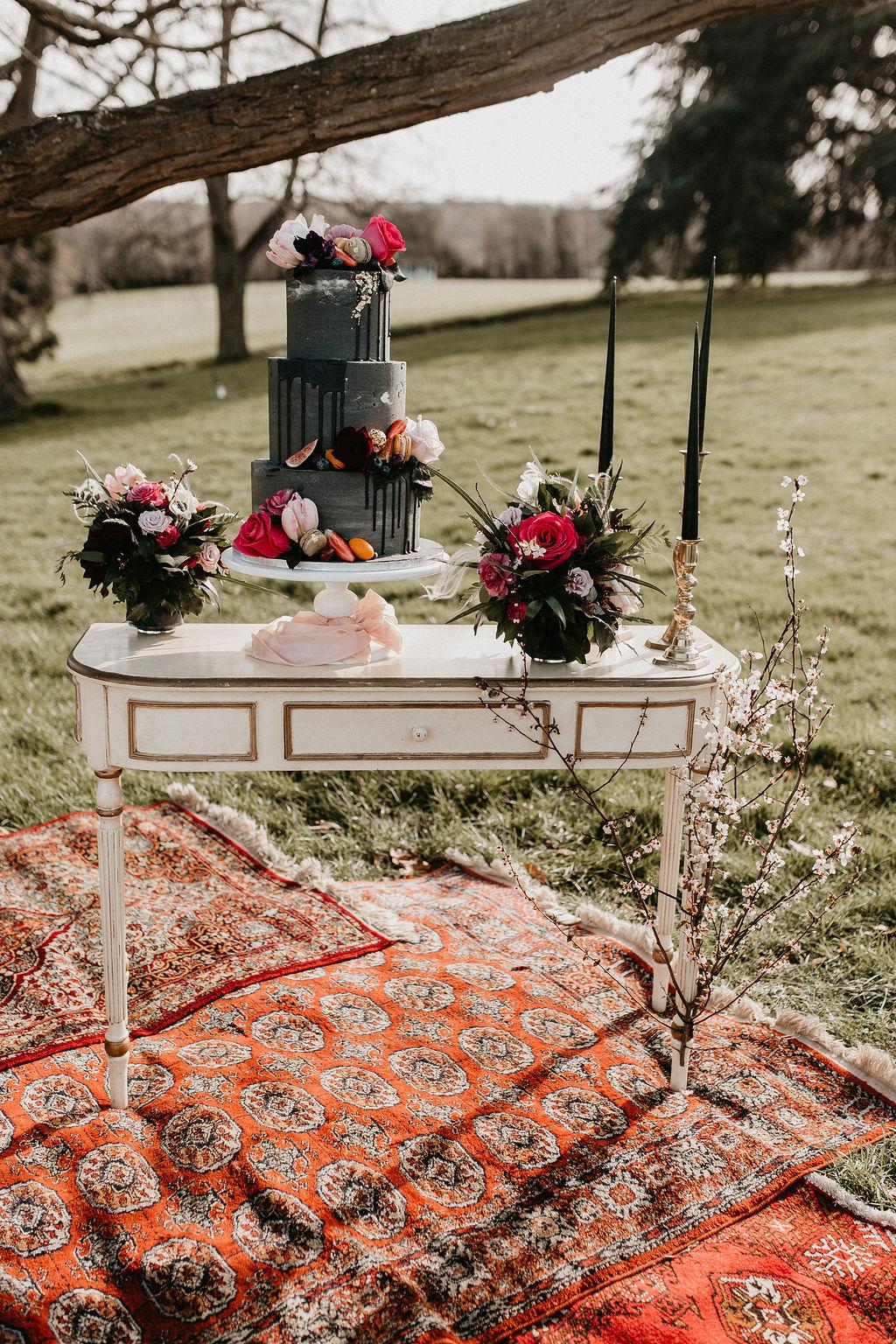 romantic woodland wedding - whimsical wedding- shakespeare wedding- unconventional wedding- eclectic boho wedding