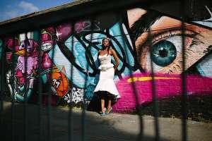 felicitywestmacott17 london bride with graffiti