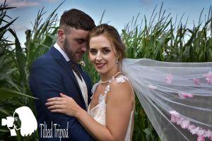 tilted tripod weddings