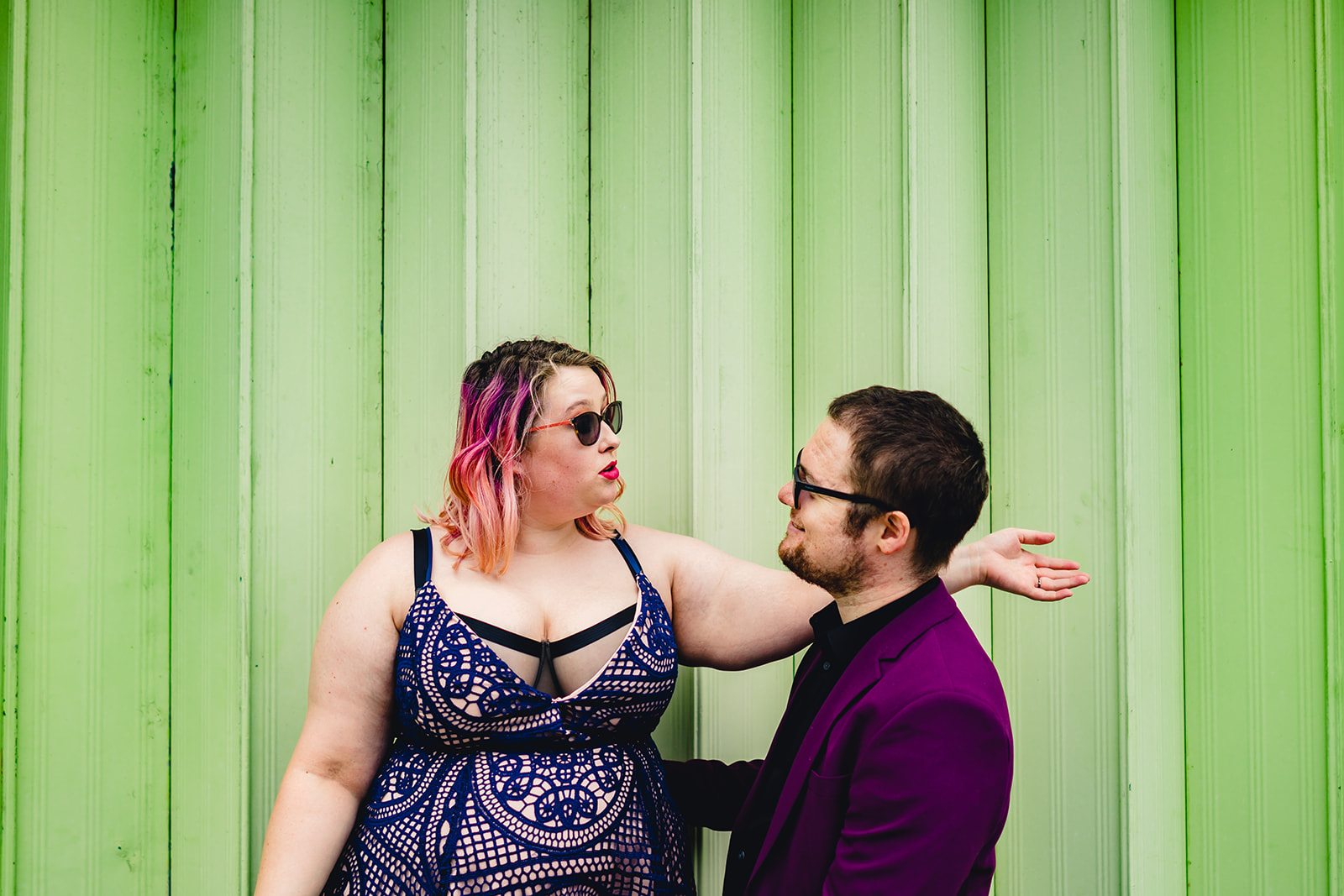 engagement shoots - birmingham engagement shoot - colourful wedding photoshoot - quirky wedding photos - fun wedding photography - alternative wedding