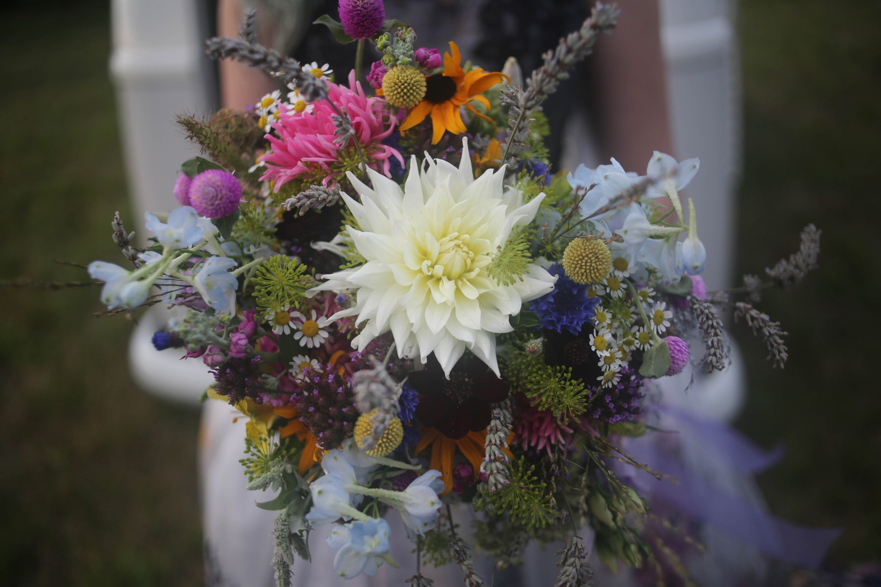 nature wedding - pagan wedding - ethereal wedding - spiritual wedding - alternative wedding - mystical wedding - quirky wedding - colourful wedding bouquet - foraged wedding bouquet