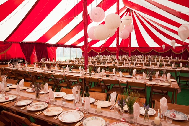 bigtopmania - big top hire uk- cornwall marquee hire - devon marquee hire - bristol marquee hire - circus themed wedding - circus wedding tent
