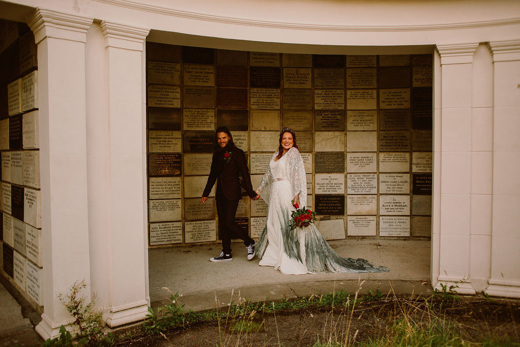 alternative wedding venue - micro wedding inspiration - pandemic wedding