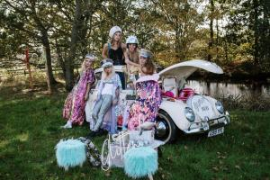 Buttercup Bus -mini_VW Beetle popup glitter bar - Tony Pullen Photography