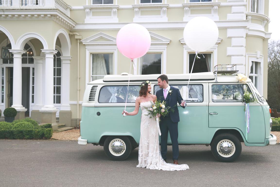 buttercup bus - wedding camper van - surrey wedding transport - london wedding transport - kent wedding transport - festival wedding car