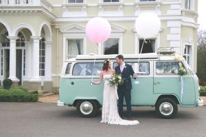 Buttercup Bus - campervan wedding - Nicola Rowley Photography