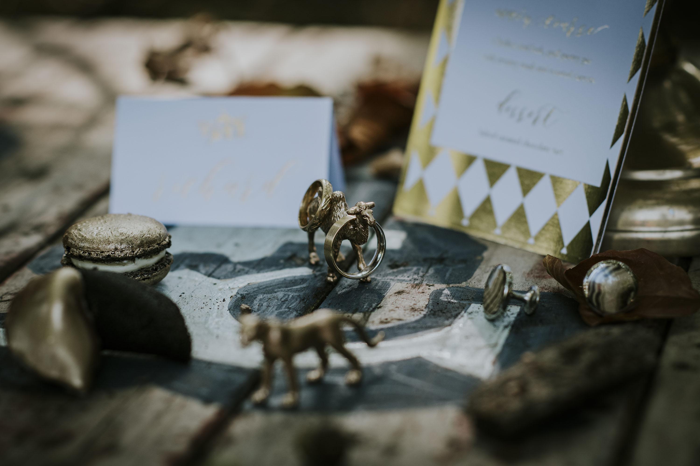 quirky wedding rings - circus wedding - bespoke wedding rings - uk wedding rings