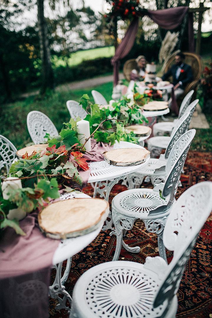 boho luxe wedding - bohemian wedding furniture - wedding furniture hire - outdoor wedding styling