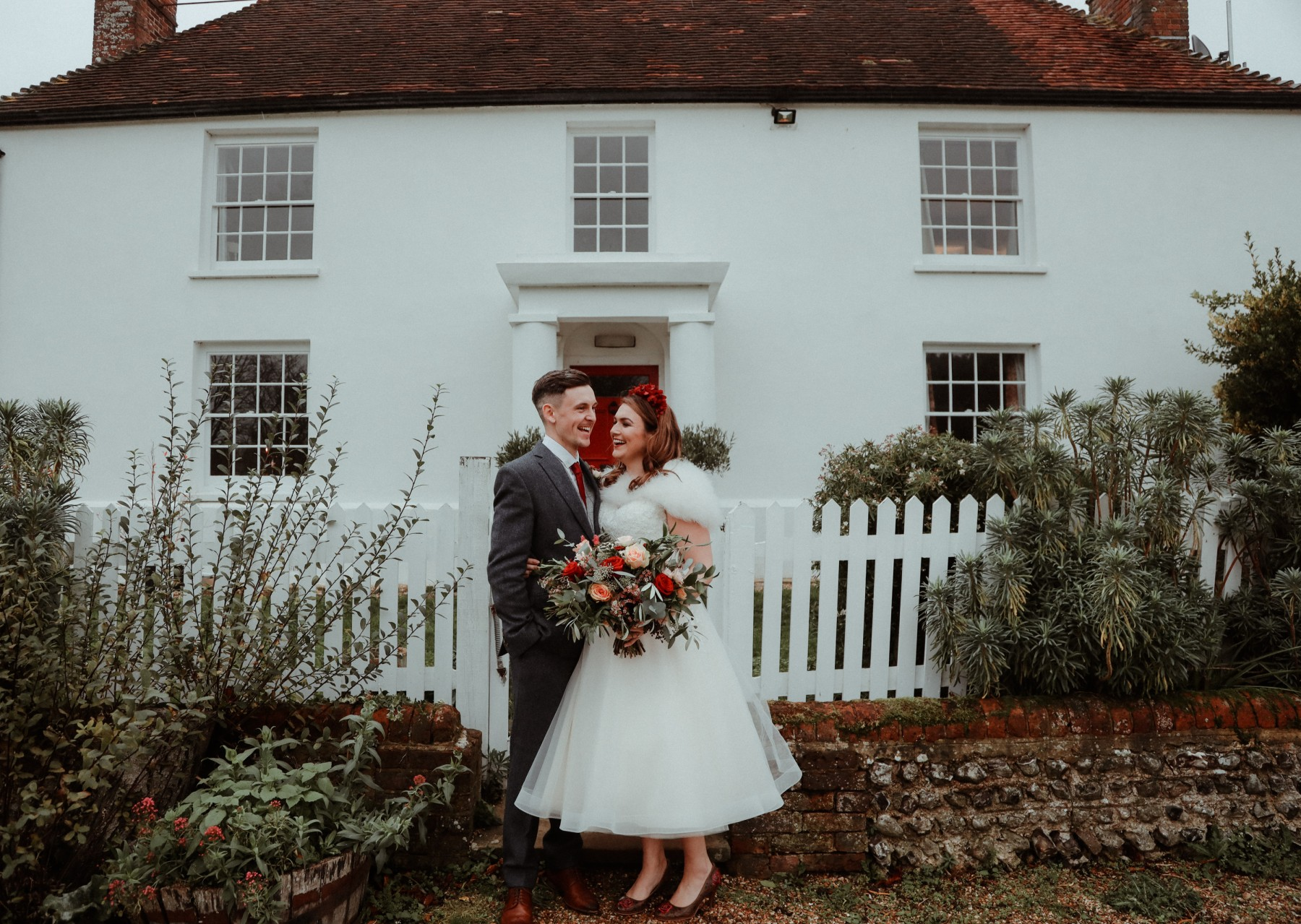 Great Betley Farmhouse wedding venue - Christmas micro wedding - christmas wedding - nhs wedding (3)