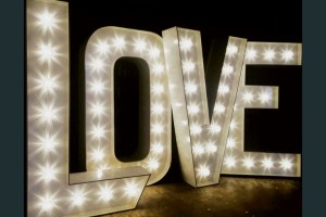 Smithy's Events - Love Neon Letters