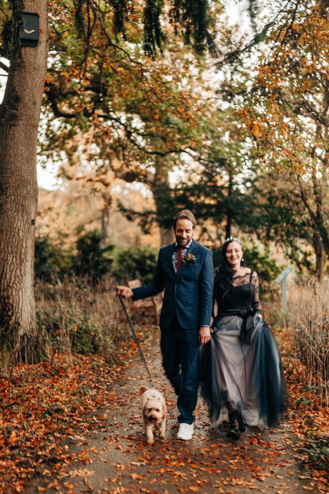 intimate alternative wedding - alternative micro wedding - small covid wedding
