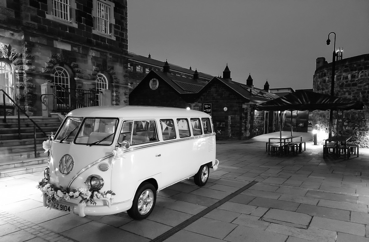 The Quirky Camper Booth - Northern Ireland wedding transport - northern ireland wedding camper van -northern ireland wedding photo booth - wedding camper van