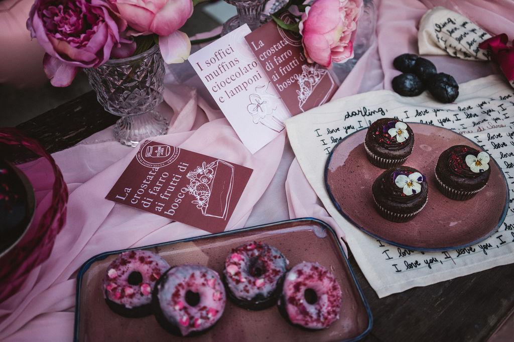 modern industrial wedding - alternative wedding - unconventional wedding - edgy wedding - modern wedding stationery - unique wedding favours - mini wedding doughnuts