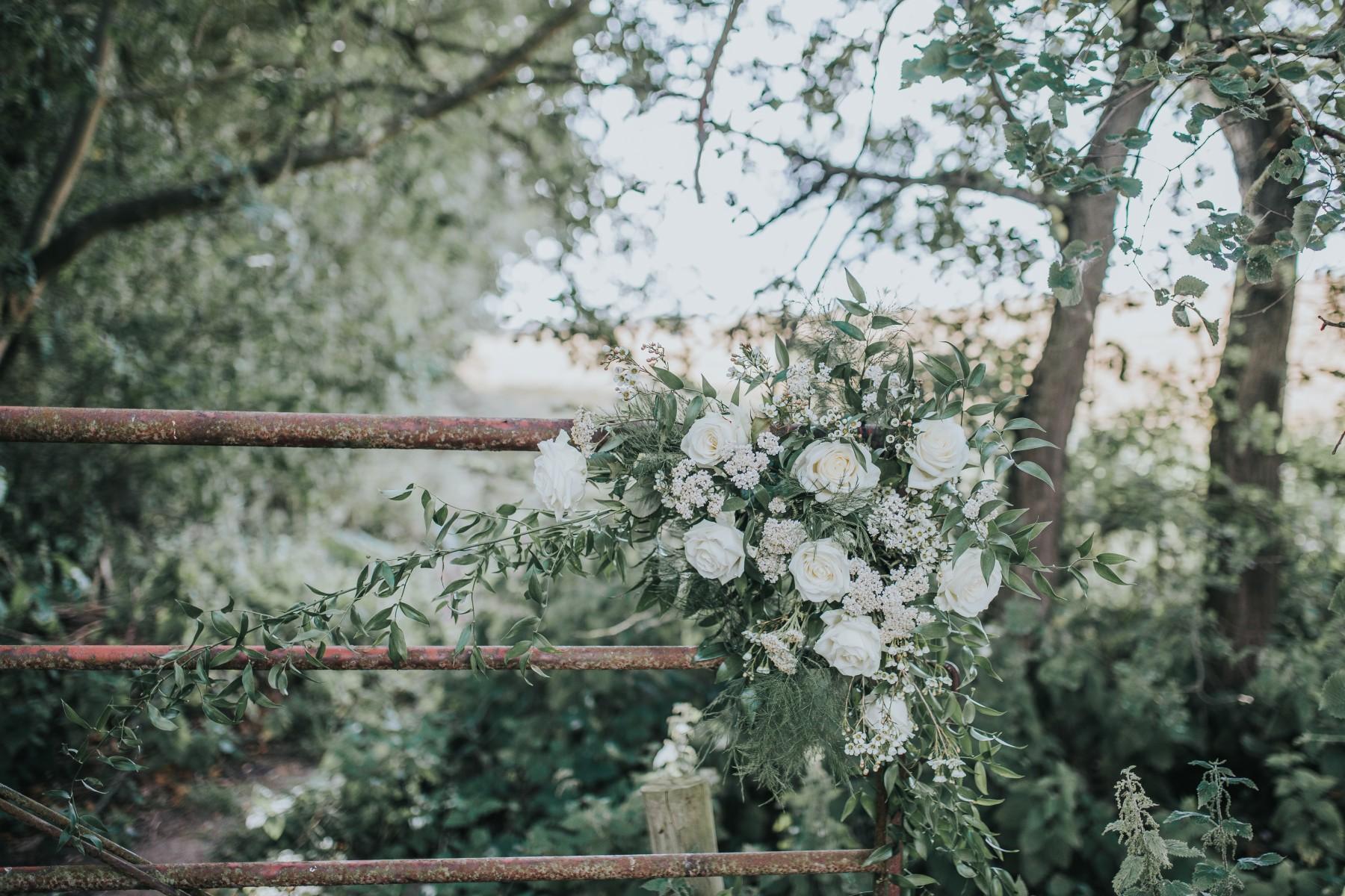 fairy wedding - whimsical wedding - magical wedding - white wedding flowers