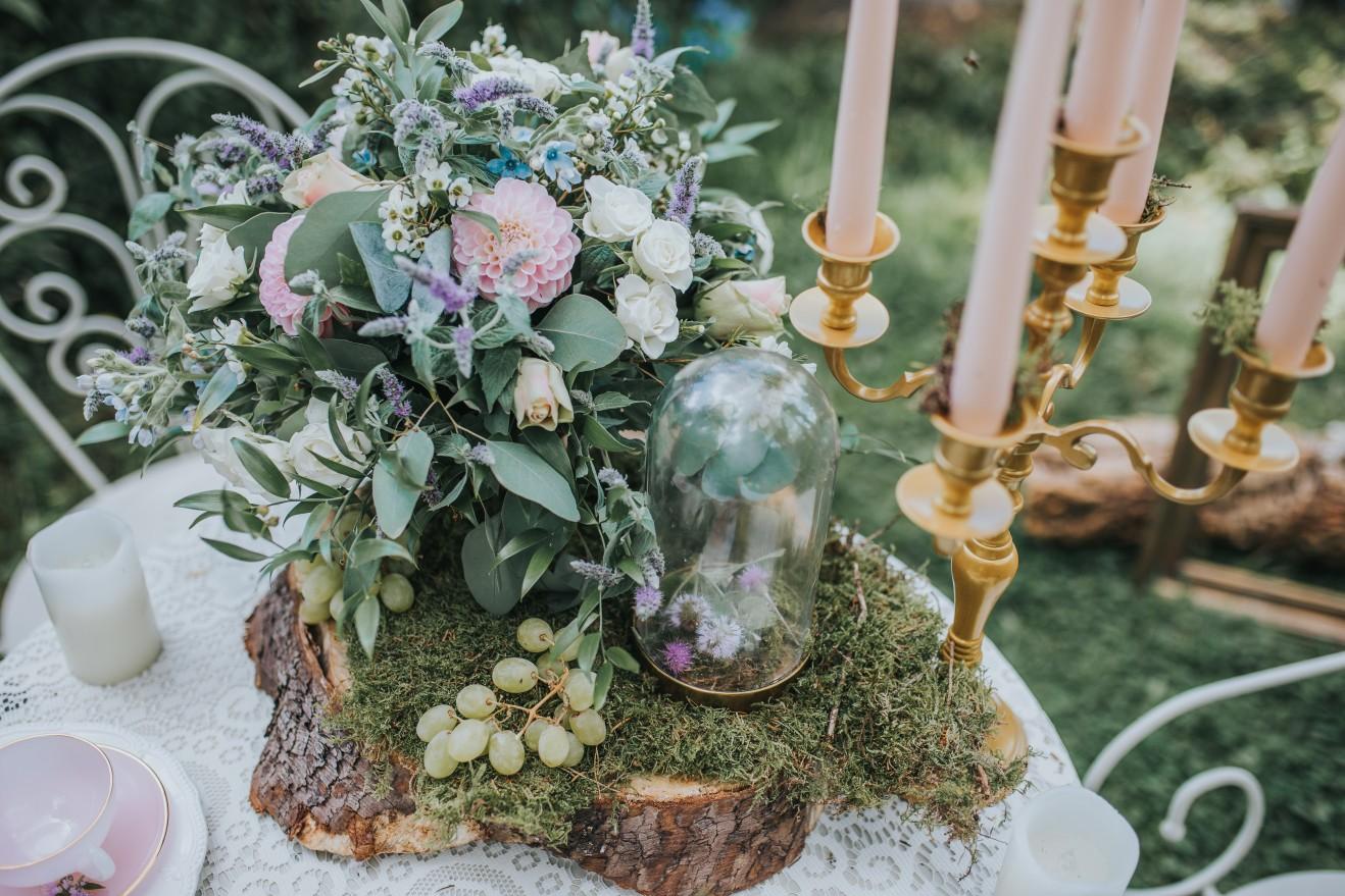 fairy wedding - whimsical wedding - magical wedding - woodland wedding decor - vintage wedding table - fairytale wedding decor