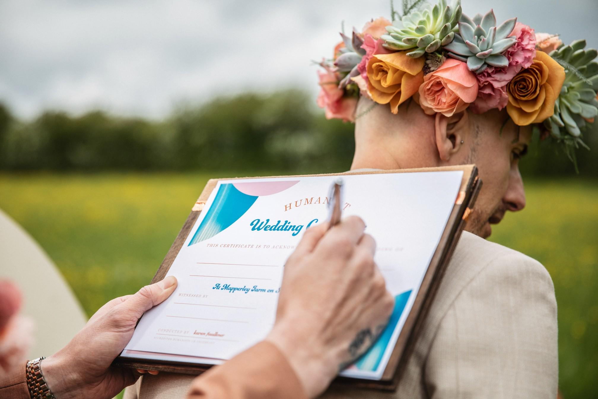 celebrant wedding ceremony - unique wedding ceremony - boho wedding ceremony - unique wedding vows