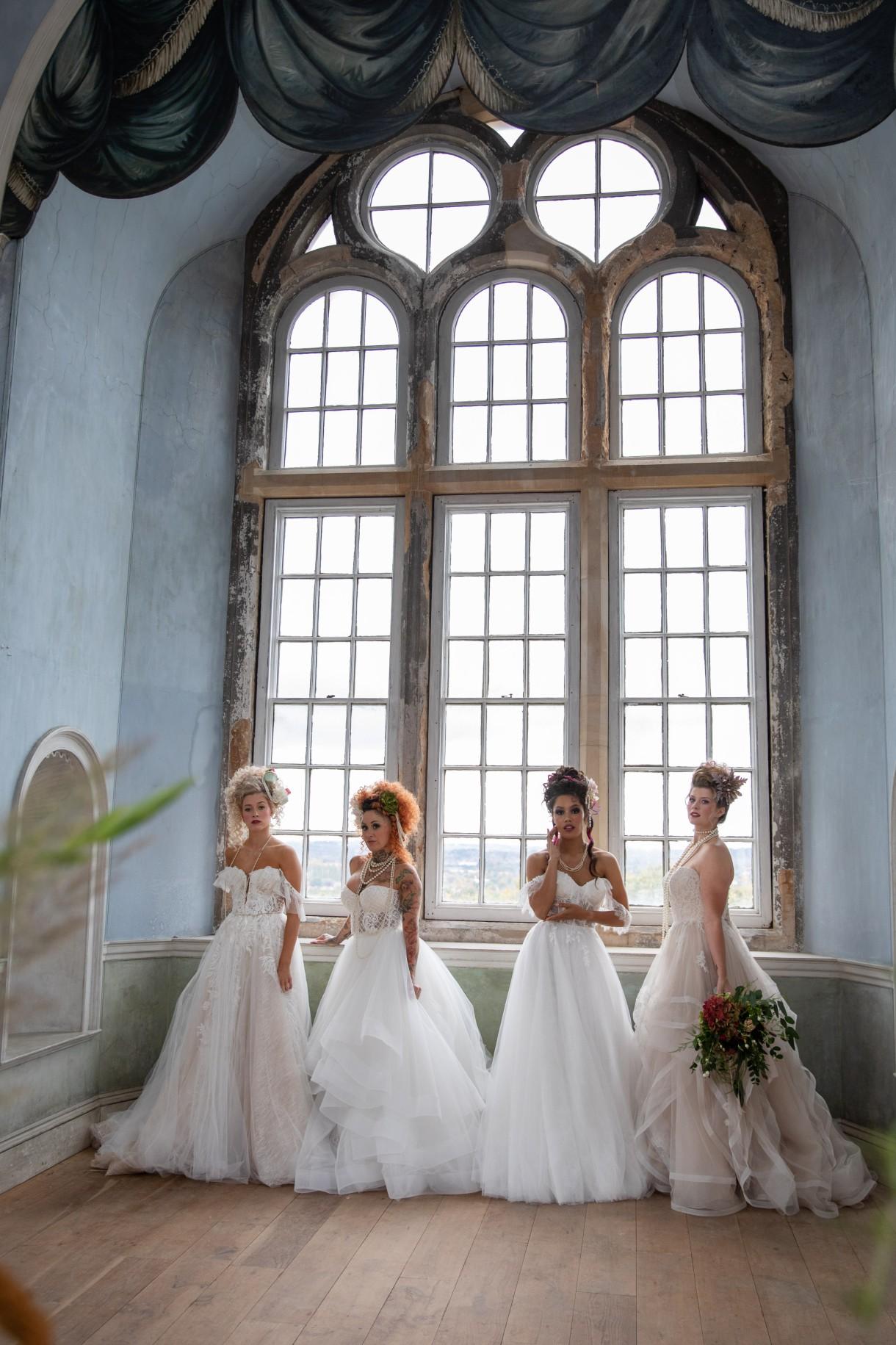 unique pastel wedding - marie antionette wedding - unique bridal look - unique bridal style - themed wedding - alternative bridal wear - classic bridal wear - elegant wedding dresses