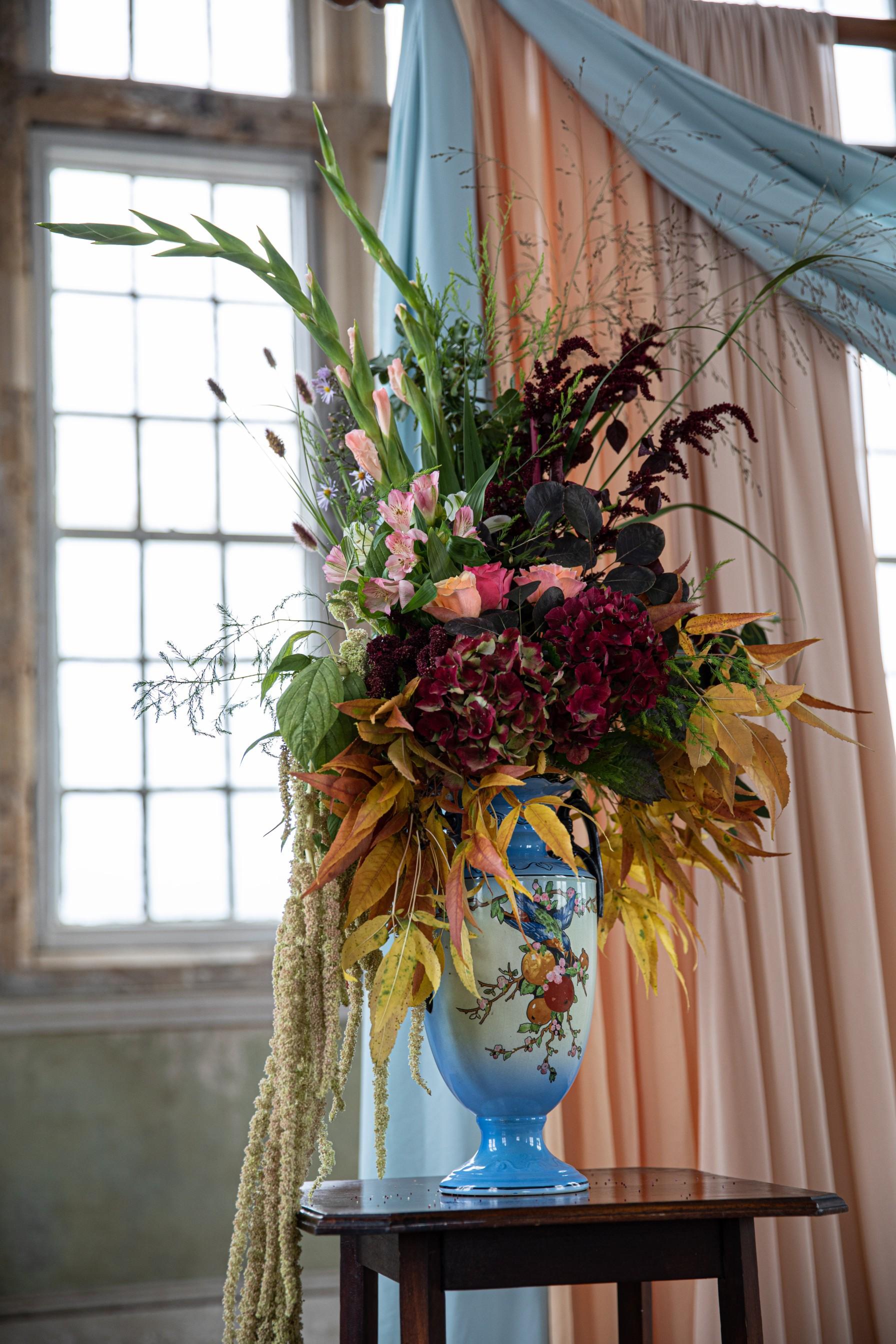 bold wedding flowers - bright wedding flowers - vintage wedding flowers - unique wedding flowers
