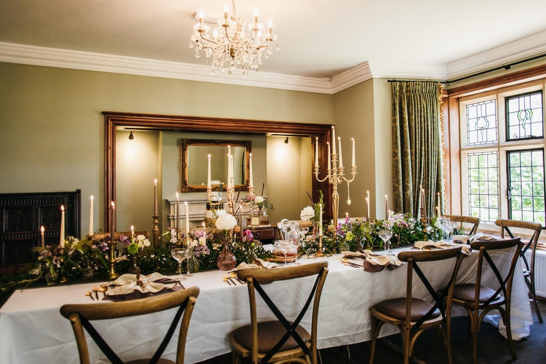 peaky blinders wedding - vintage wedding - 1920s wedding - themed wedding inspiration - vintage wedding table styling