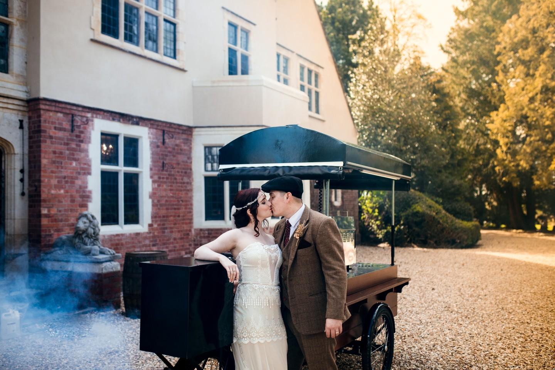 peaky blinders wedding - vintage wedding - 1920s wedding - themed wedding inspiration - period wedding inspiration