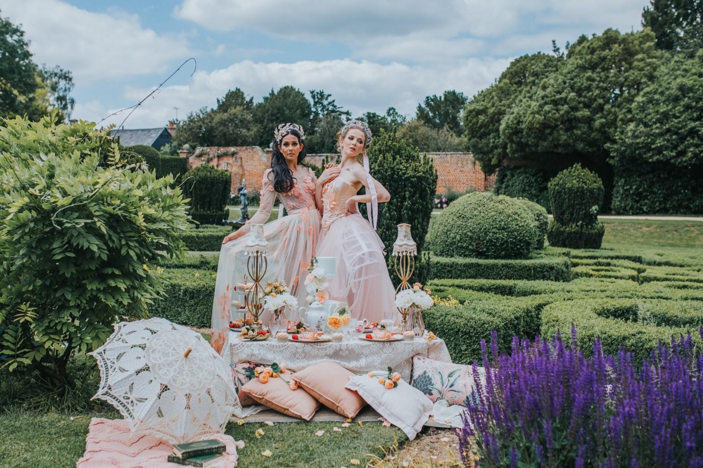 bridgerton wedding - regency wedding - whimsical wedding - vintage wedding - fairytale wedding dress - unique bridal wear - peach wedding dress - unique wedding ideas - unconventional wedding - unique wedding blog