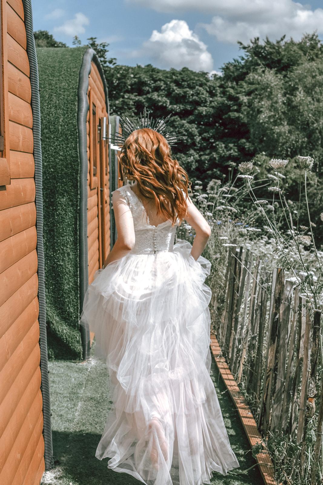 rustic festival wedding - farm wedding - unique wedding venue - unique wedding wear