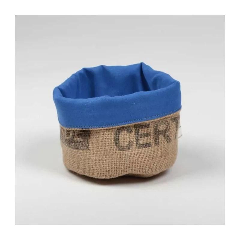 Corbeille S En Toile De Jute De Sac De Caf Et Coton Par