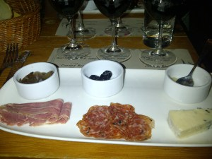 Second Course at Salt Cellar Series featuring Stag's Hollow
