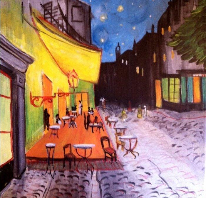 """Van Gogh's """"Cafe at Night"""""""
