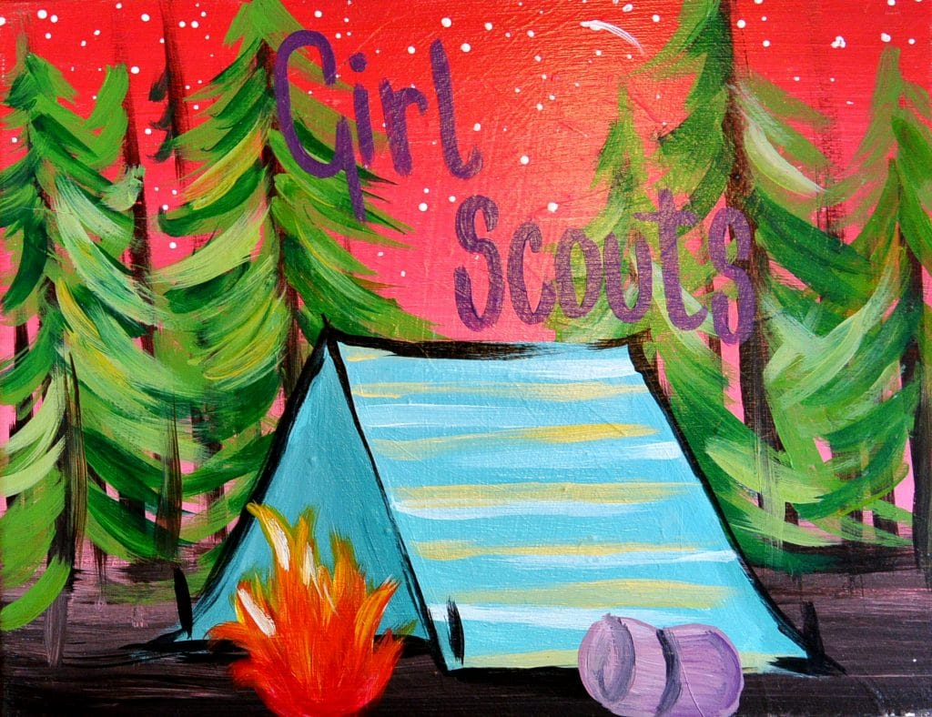 Kids Girl Scout Camp