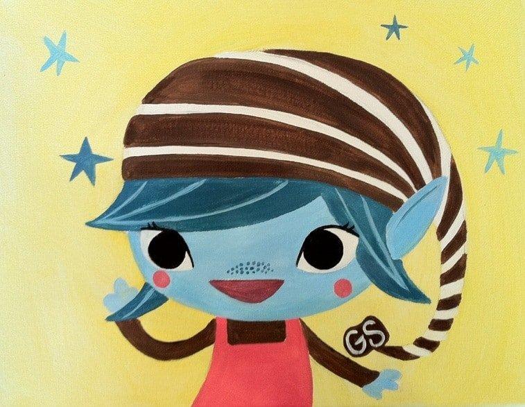 Kids Girl Scout Elf