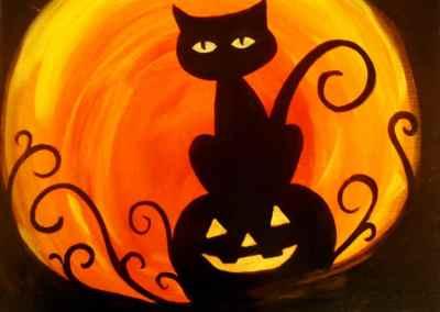 Kids Pumpkin Kitty