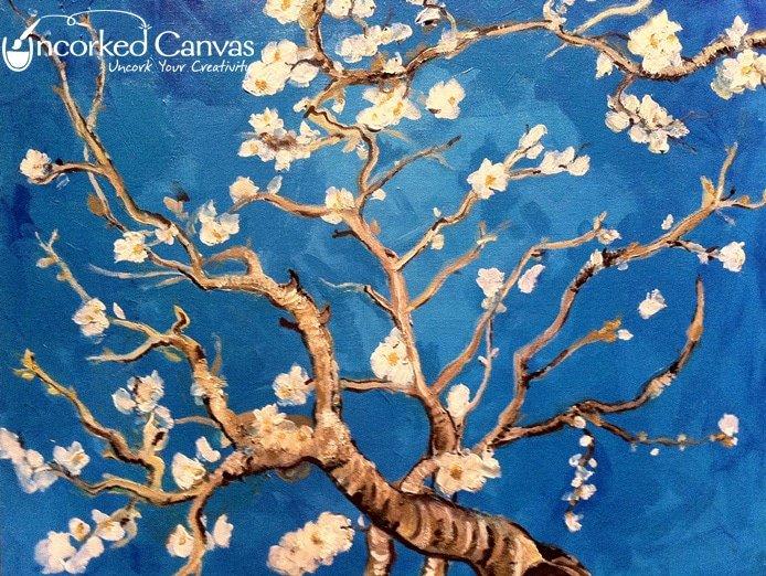 Van Gogh's Blooming Almond