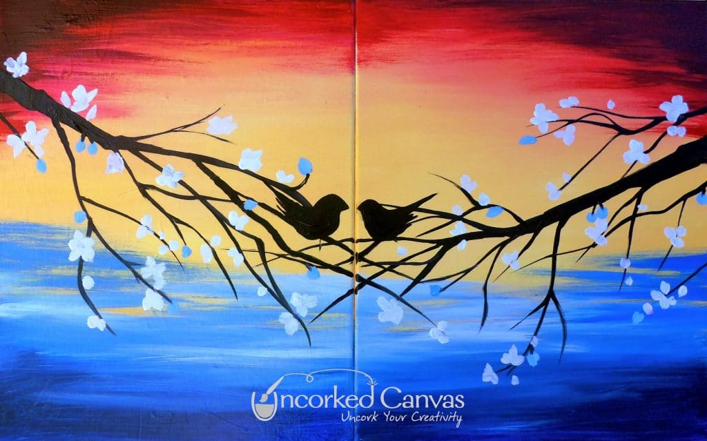 Couple's Love Birds