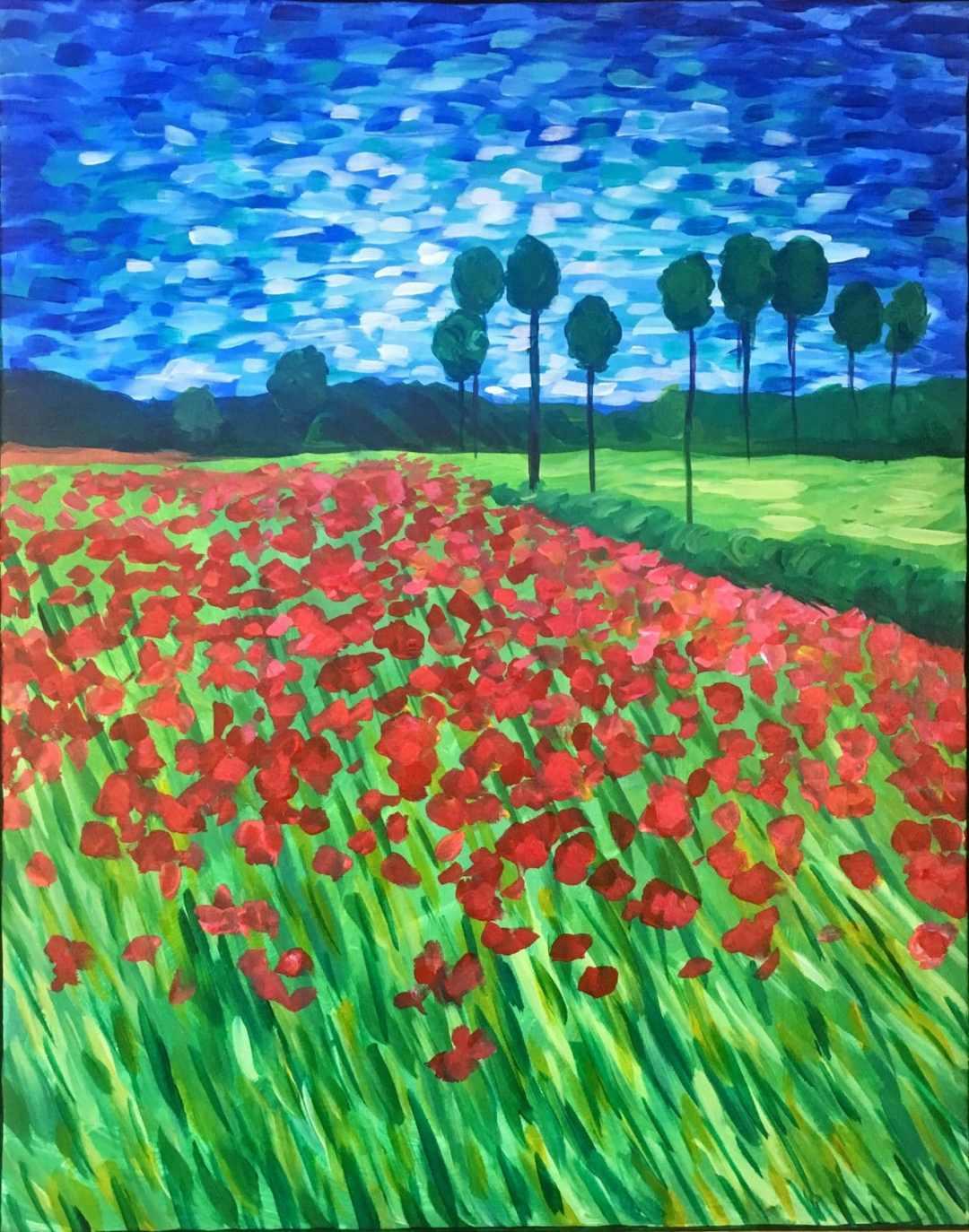 Van Gogh's Poppy Field