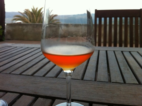 glass of Passito