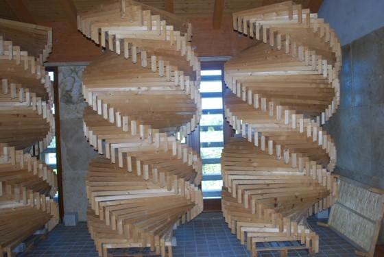 stacked racks