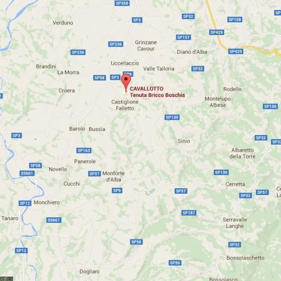 Cavallotto map copy