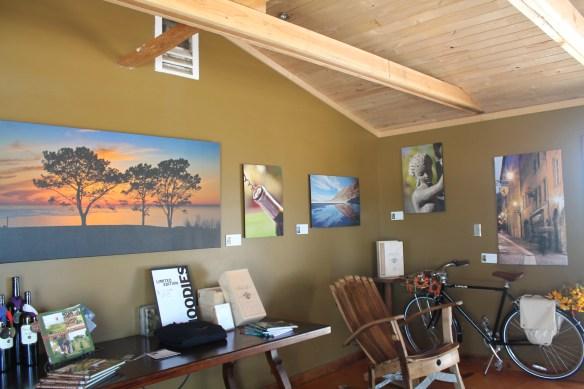 Tasting room at Palumbo Family Vineyards & Winery, Temecula, California