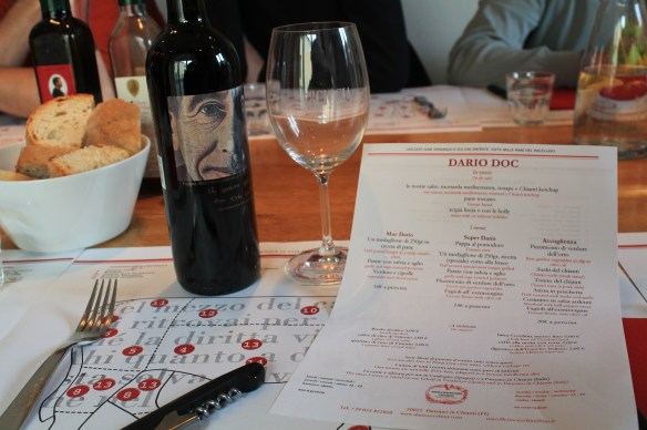 Pranza at Dario's family style ristorante Dario Doc ~ bring your own wine!