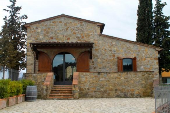 Villa Cafaggio in Cecione, near Panzano