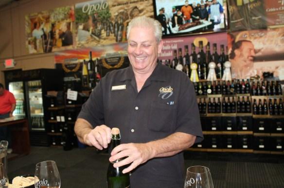 Wine guru, Roger Sheridan